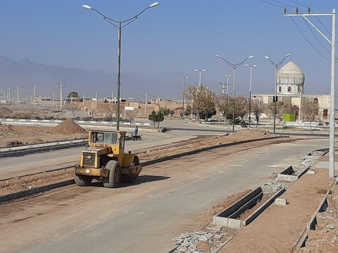 گزارش تصویری از : اجرای عملیات عمرانی پروژه های در دست اقدام شهرداری سفیدشهر