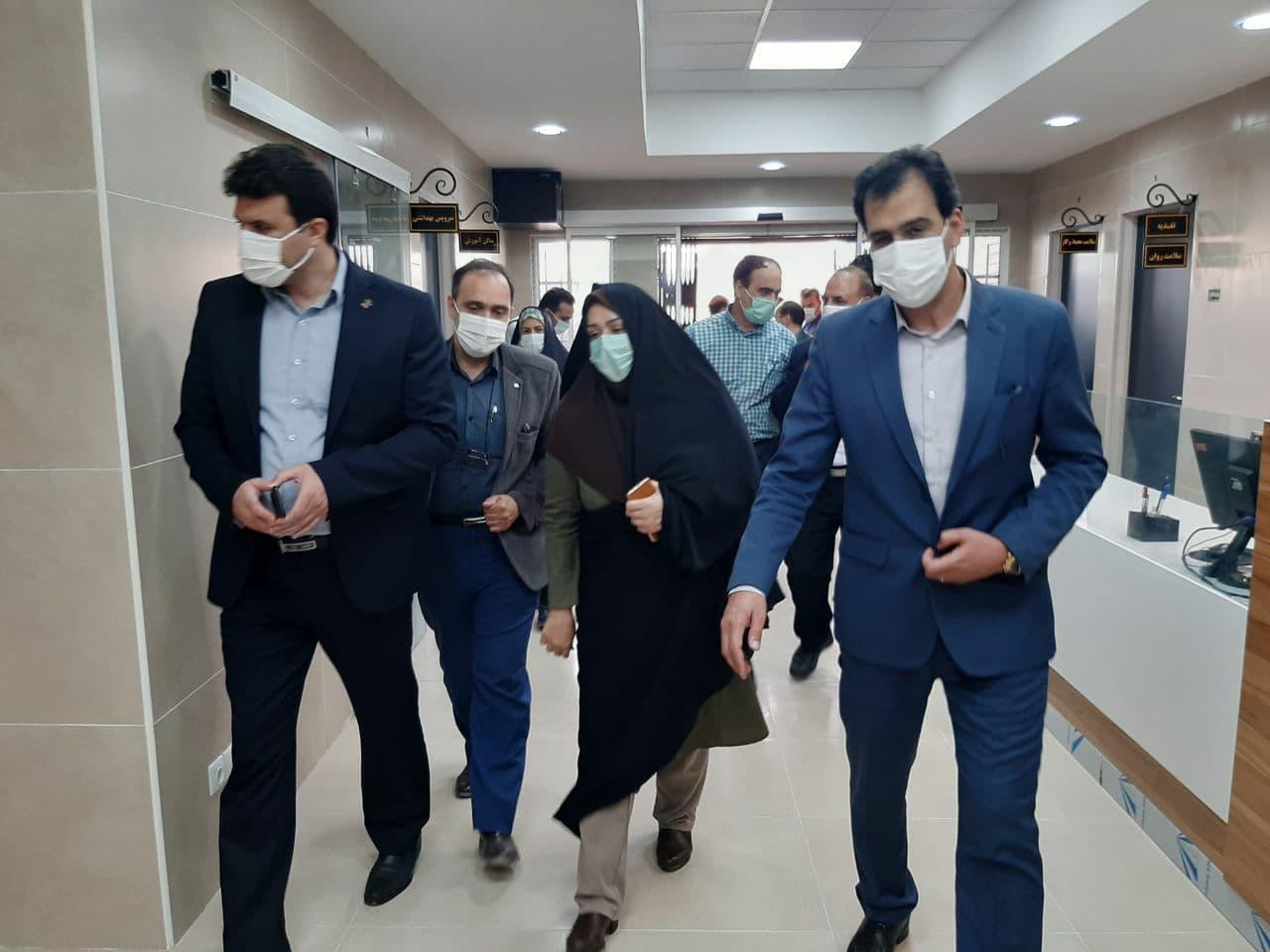گزارش تصویری از افتتاح درمانگاه قائم (عج) سفیدشهر