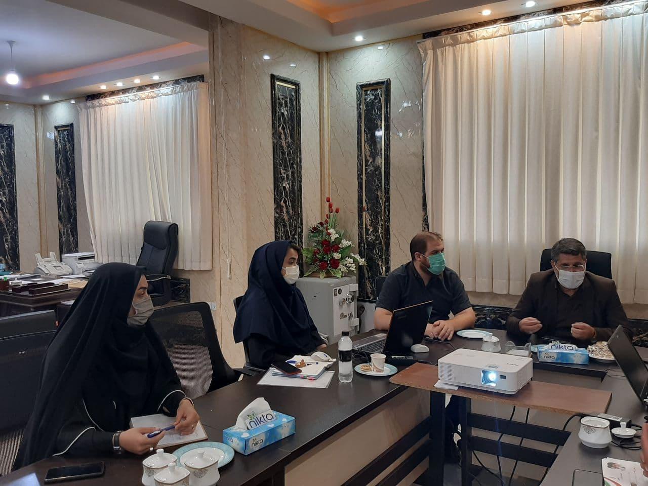گزارش تصویری از برگزاری جلسه طرح تفصیلی شهر